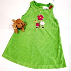 Rare Editions Green Jumper Dress Size 6 Kids